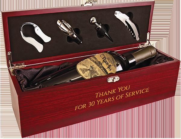 WBX12 wine box w tools