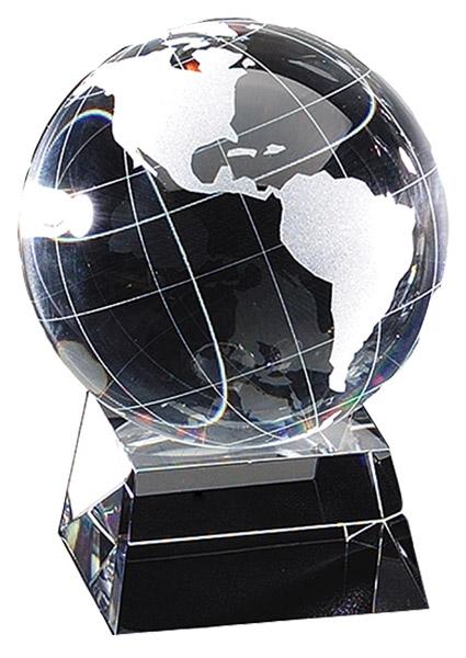 cry115 crystal globe b