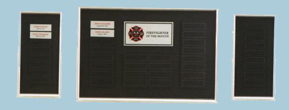 Custom perpetual plaques
