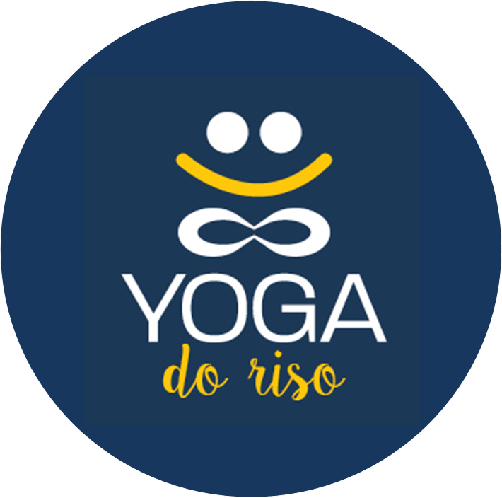 Logo Yoga do Riso - media