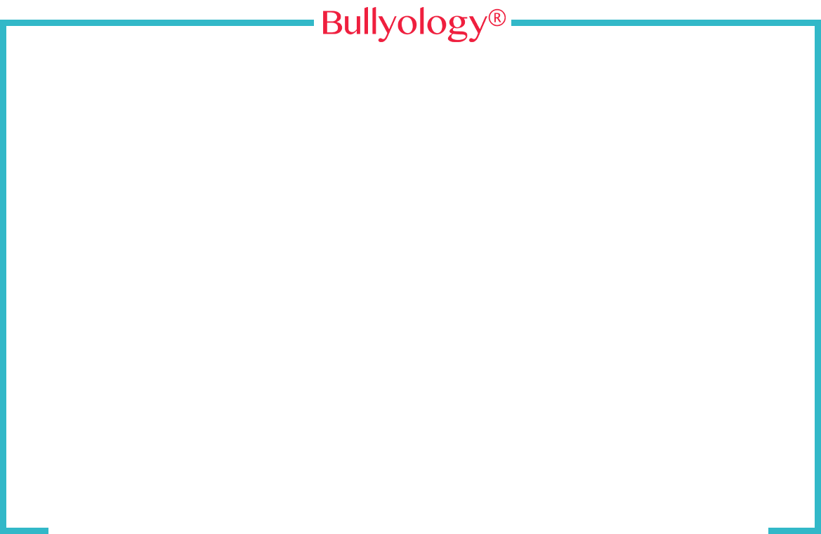 the client and bullyology, safeguarding personal privacy