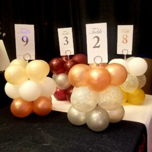 Event Rental Table Settings