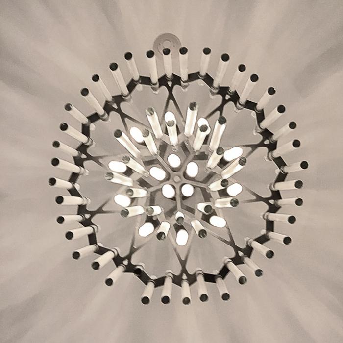 intricate lighting fixture