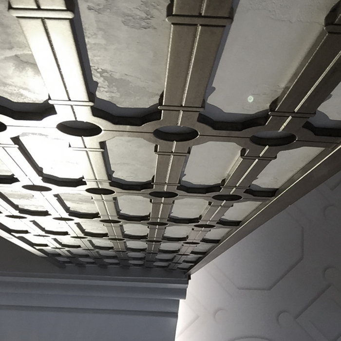 Detailing on ceiling