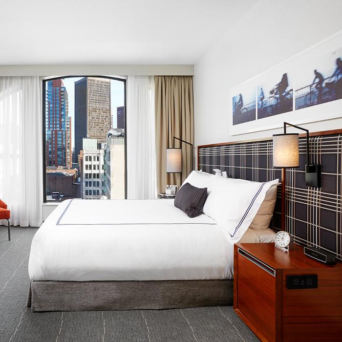 Godfrey Hotel Boston bedroom