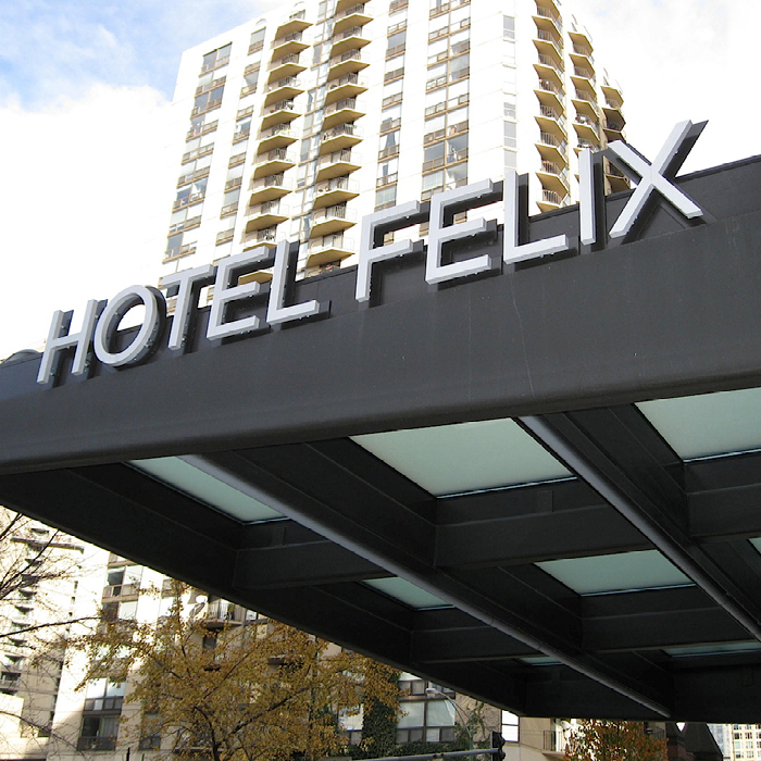 Oxford Capital Hotel Felix outdoor awning