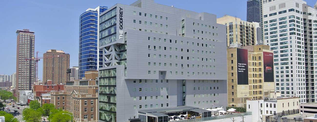 The Godfrey exterior