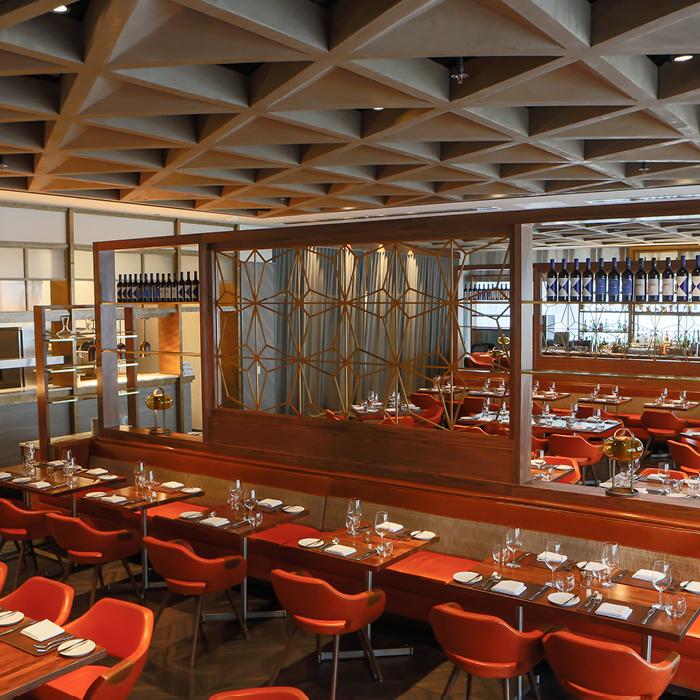 Dolce Italian elegant dining space