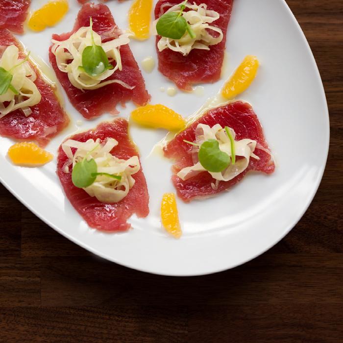 Dolce Italian beautiful meat appetizers