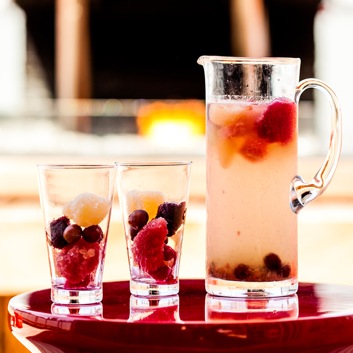 Fruity mixed drinks