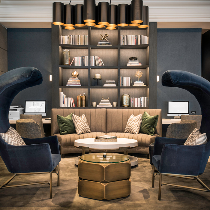 LondonHouse lobby seating space
