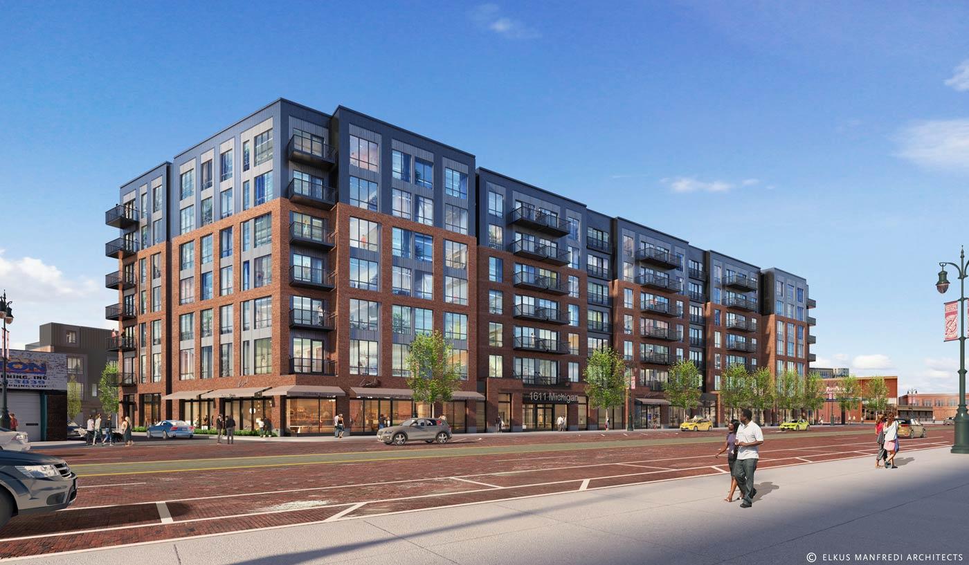 Apartments at Michigan on 10th Oxford Capital
