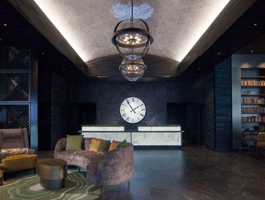 Lobby of the Portland Hotel