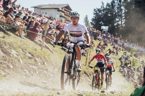 Alan Hatherly performs at UCI XCO World Cup in Lenzerheide, Switzerland on September 5, 2021 // SI202109050970 // Usage for editorial use only //