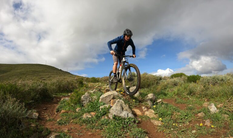 Bike Skills: How To Absorb Obstacles On The Trail