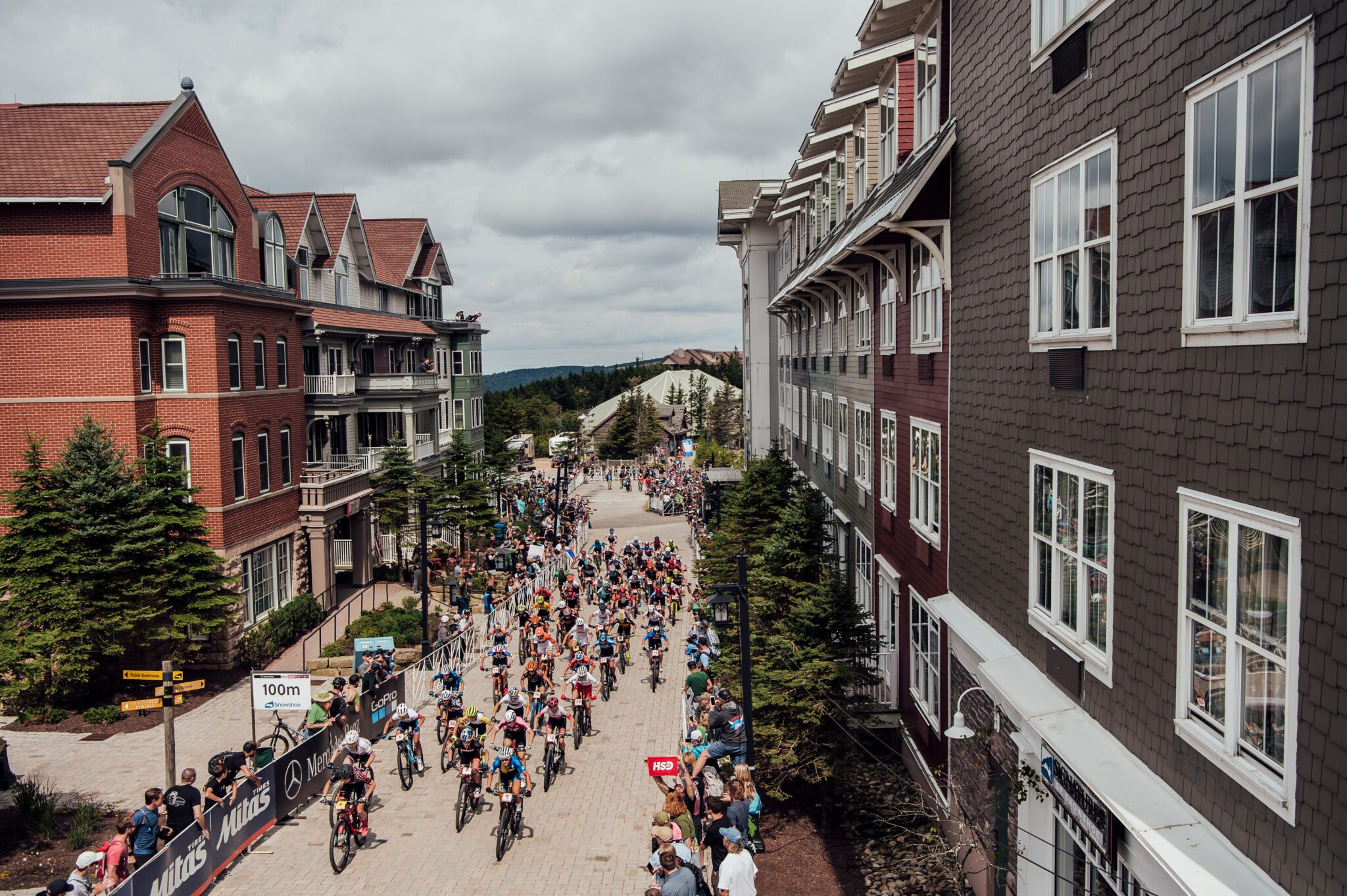 Competitors perform at the UCI XCO World Cup in Snowshoe, USA on September 8, 2019 // Bartek Wolinski/Red Bull Content Pool // SI201909090008 // Usage for editorial use only //