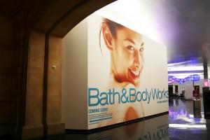 Bath & Body Works Wall Wrap