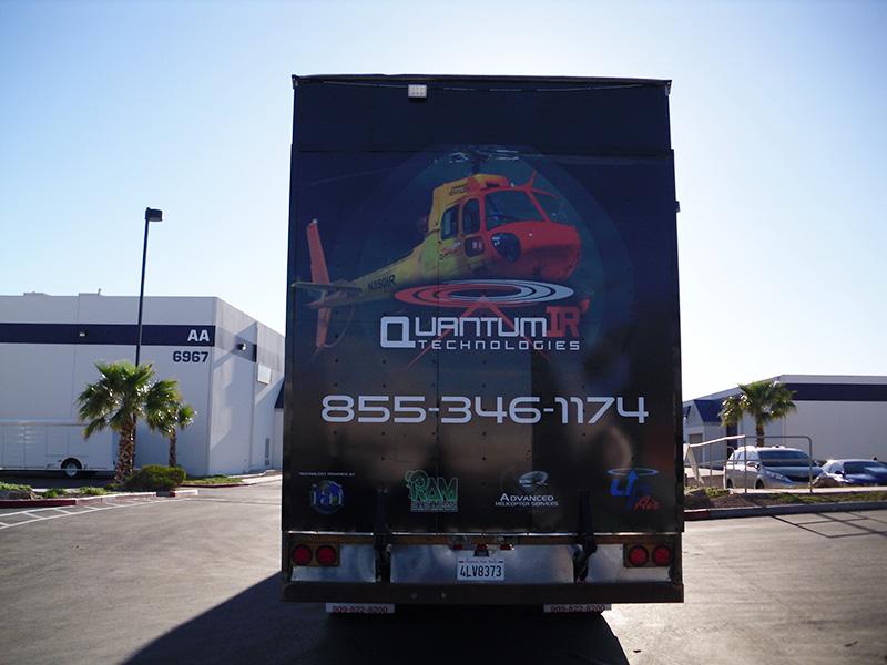 Quantum IR Technologies Best Trailer Wrap