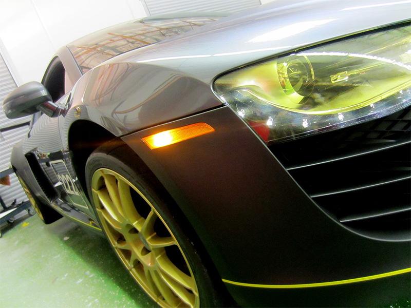 Las Vegas Matte Car Wrap