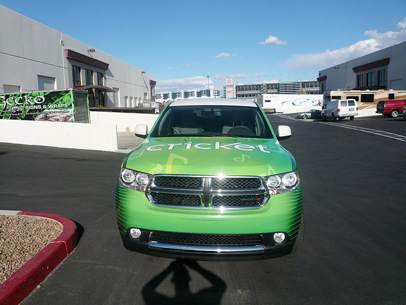 MuveMusic SUV Wrap in Las Vegas
