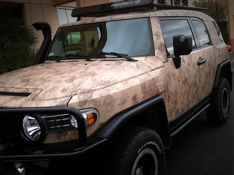 Las Vegas SUV Wrap