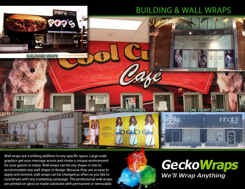 GeckoWraps Las Vegas Wall Wraps & Building Wraps