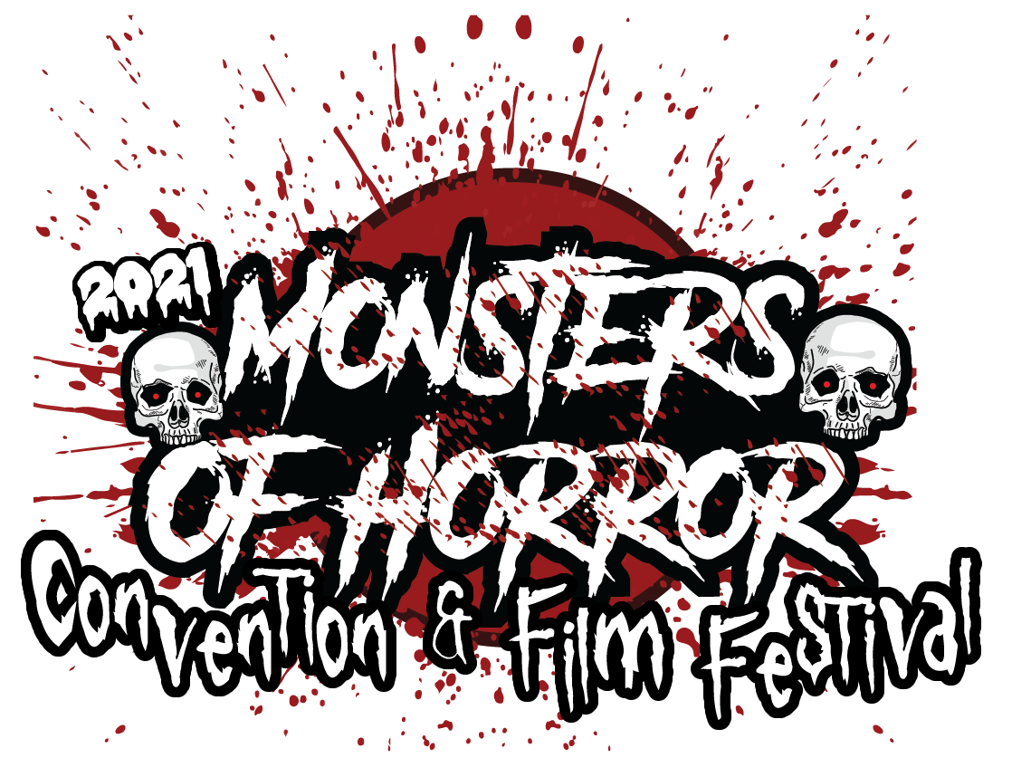 2021 MONSTERS OF HORROR logo boxed look