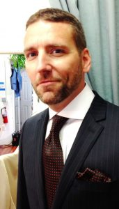 Custom Black and Brown Suit