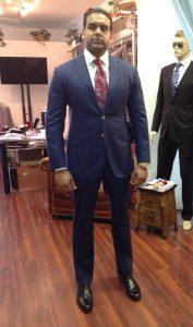 Man Custom Suit