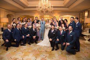 Custom Group Wedding Dress & Suit