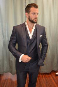 Custom Gray Suit
