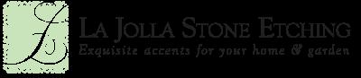 La Jolla Stone Etching