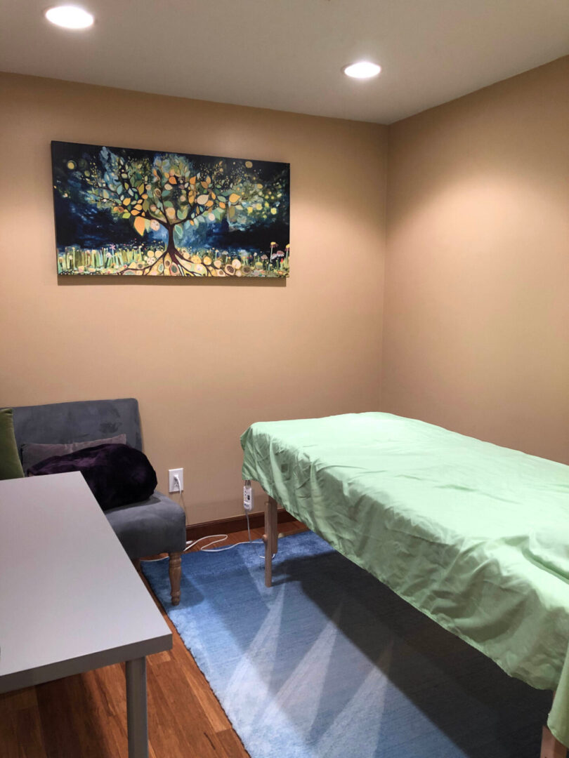 clinic bed
