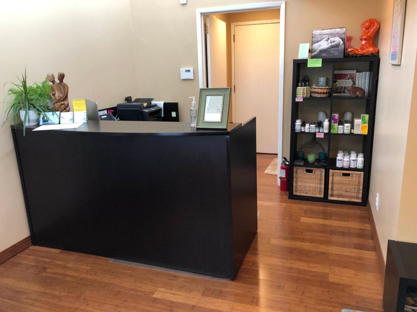 medical clinic front desk