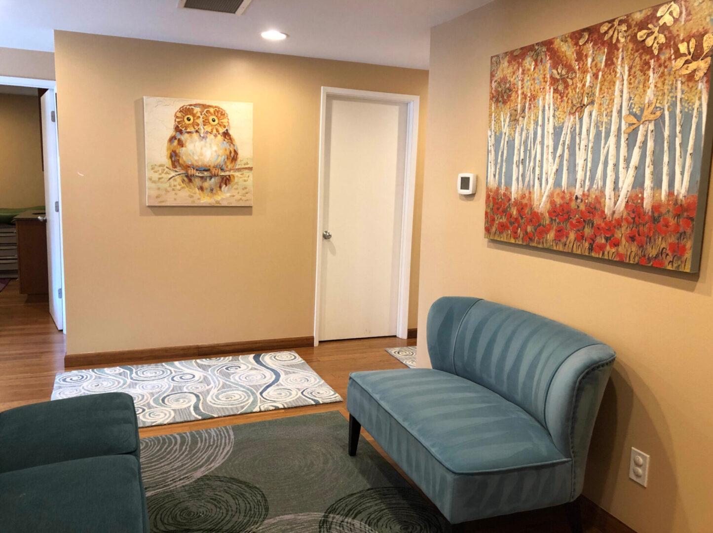 wellness center waiting room
