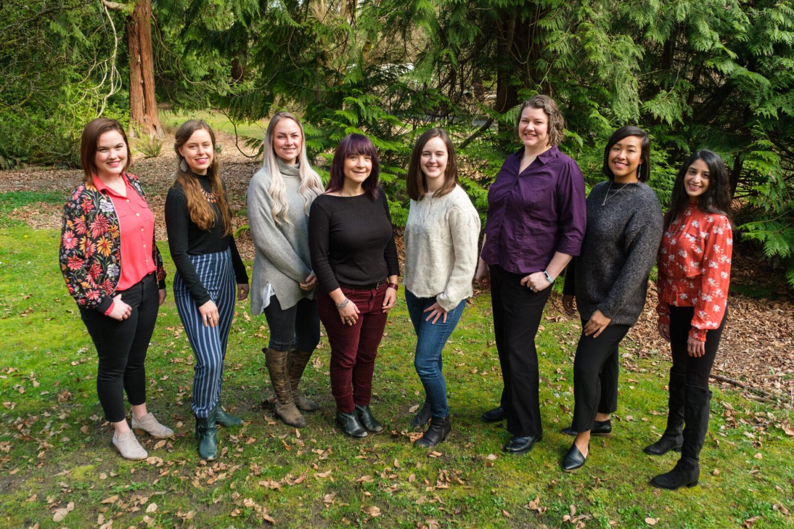 Fern Valley Natural Health Staff Photos at Washington Park Arboretum in Seattle, Washington, on March 27, 2021.
