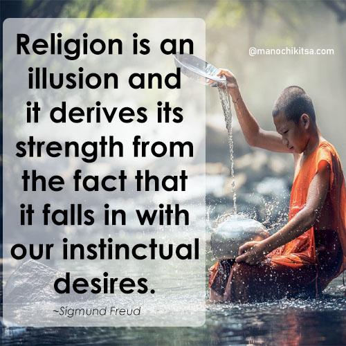 Sigmund Freud quotes on religion