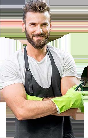 landscape gardener for landscape service