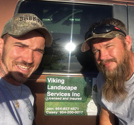 Viking landscape service owners boca and coral springs surrounds