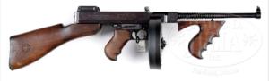 .45 cal 1921 Colt Thompson Submachine Gun