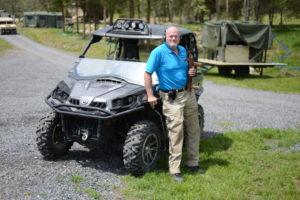 Kevin T. Mabie, owner of Lost River Shoot. In blue shirt–Kevin T. Mabie, owner of Lost River Shoot. Photo Credit: Lost River Shoot/Rita Berger