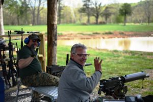 Thank you for joining us for the April 2019 machine gun shoot! Photo Credit: Lost River Shoot/Rita Berger