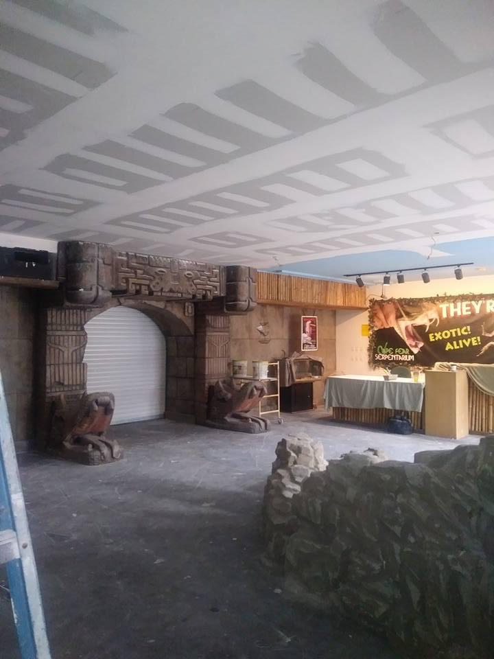 Cape Fear Serpentarium - Drywall Repair