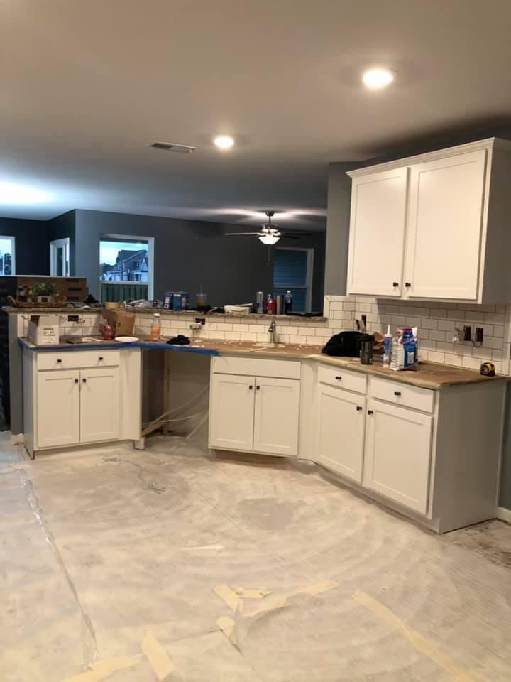 Kitchen remodeling & tile backsplash