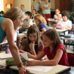Writing with upper grades at the International School in Curitiba, Brazil.