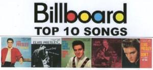 BillboardPresleyTop-10