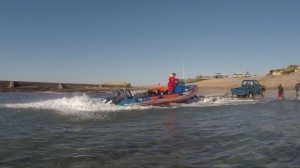 African Dive Adventures-aunching boat Protea Bank