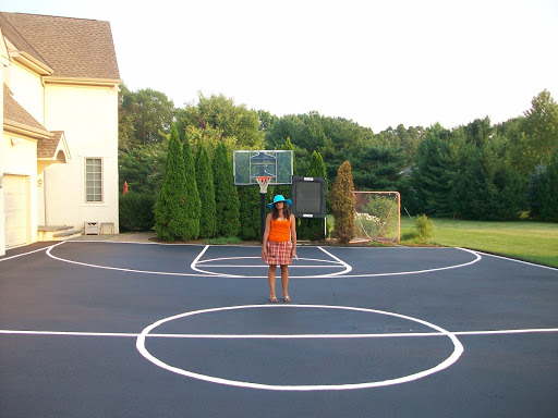 Basketball Court Installation and Markings