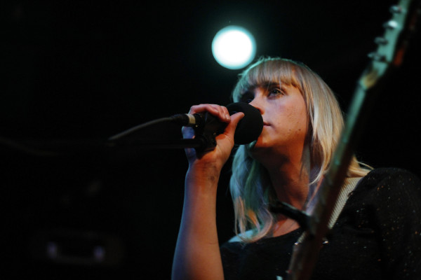 Jenn Wasner performs as Flock Of Dimes at Black Cat Backstage in Washington, DC on Feb. 16, 2012.