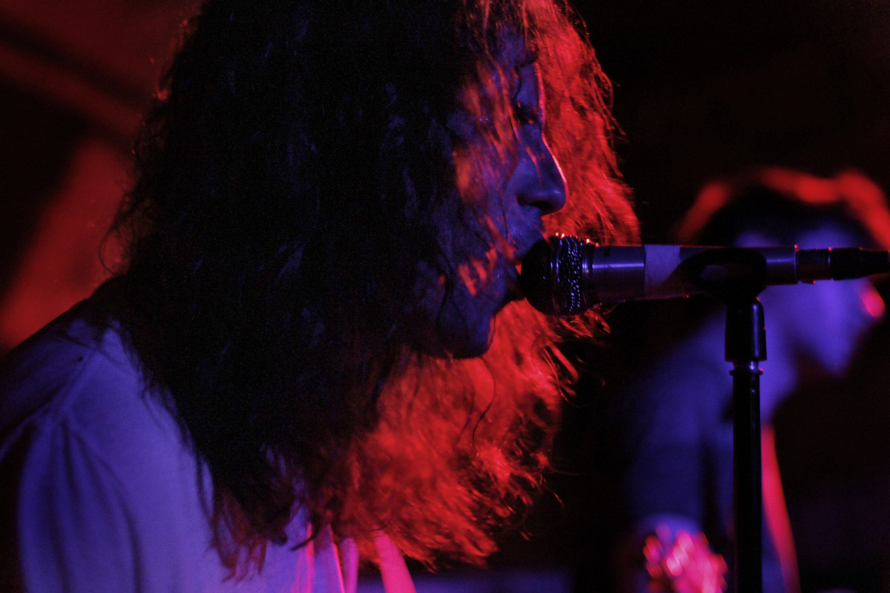 The Men performs at Beerland during South By Southwest in Austin, Texas on March 17, 2012.